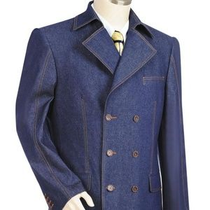 Other - Men's 3pc Jeans. Double Breasted Suit